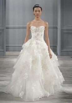 Monique Lhuillier Bijou Ball Gown Wedding Dress