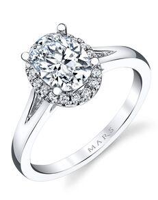 MARS Fine Jewelry Elegant Oval Cut Engagement Ring