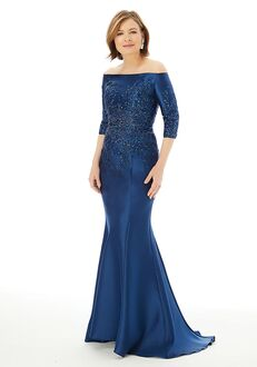 MGNY 72213 Silver Mother Of The Bride Dress