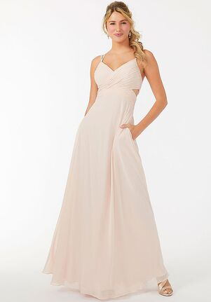 Morilee by Madeline Gardner Bridesmaids 21702 - Morilee by Madeline Gardner Bridesmaids V-Neck Bridesmaid Dress