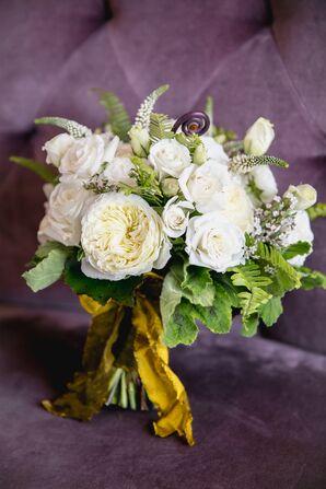 White Garden and Spray Rose Bouquet