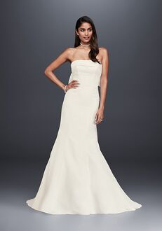 David's Bridal WG3878 Sheath Wedding Dress