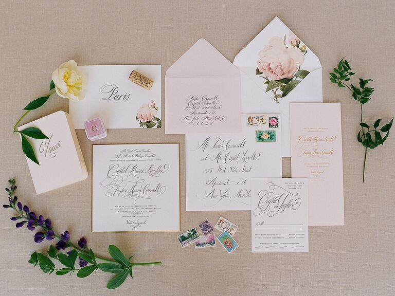 Questions To Ask Your Wedding Stationery Designer