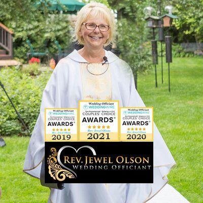 Rev. Jewel Olson - Wedding Officiant