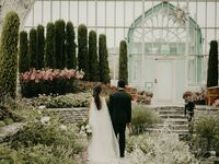 Greenhouse wedding venue in Saint Paul, Minnesota.
