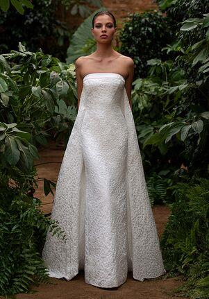 ZAC POSEN FOR WHITE ONE DITA Mermaid Wedding Dress