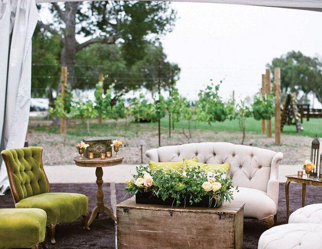 wedding reception lounge area ideas
