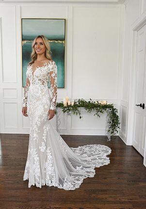 Essense of Australia D3284 Mermaid Wedding Dress