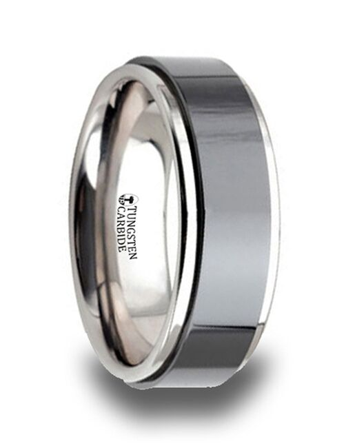 Mens Tungsten Wedding Bands W643-RBTC Tungsten Wedding Ring