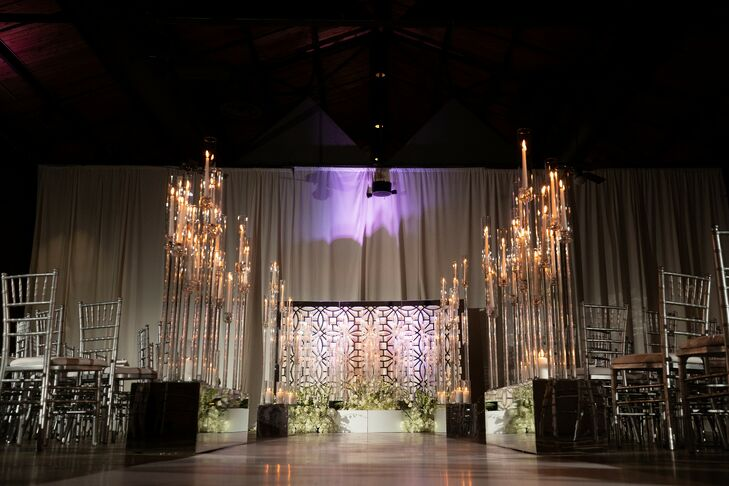 Black-and-Silver Decor at the Georgia Freight Depot in Atlanta