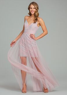 Hayley Paige Occasions 5865 V-Neck Bridesmaid Dress