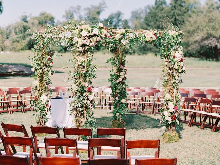 Wedding Chuppahs 29 Creative Wedding Chuppah Ideas We Love