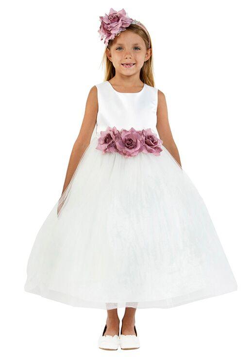 Kid's Dream 411-F Ivory Flower Girl Dress
