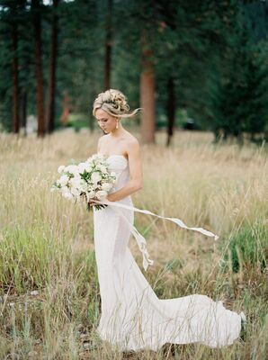 Sexy Yet Sophisticated Wedding Gown
