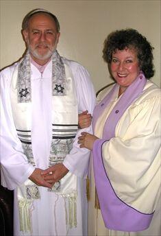 Rabbi Rodger Ross and Reverend Deborah Steen Ross