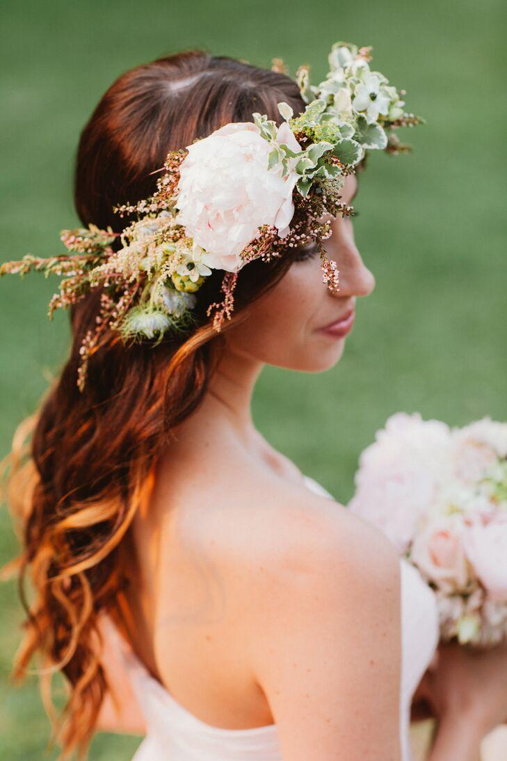 Rustic, Bridesmaid Flower Crown