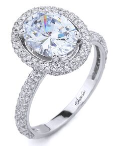 Supreme Jewelry Elegant Oval Cut Engagement Ring