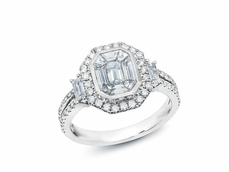Graziela vintage engagement ring