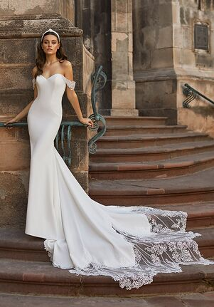 Moonlight Collection J6817 Mermaid Wedding Dress