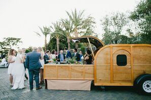 Bar Trailer for Reception