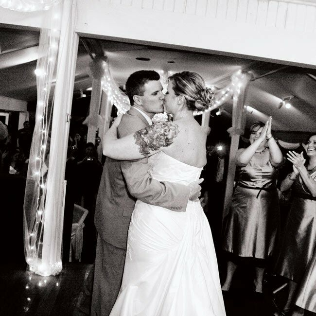 Rebecca and Charlie danced to Your Song by Elton John.