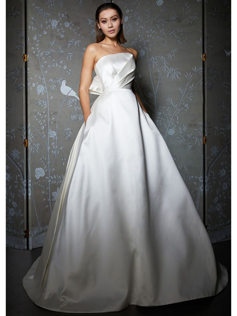 Legends by Romona Keveza wedding dress ball gown with ruched bodice