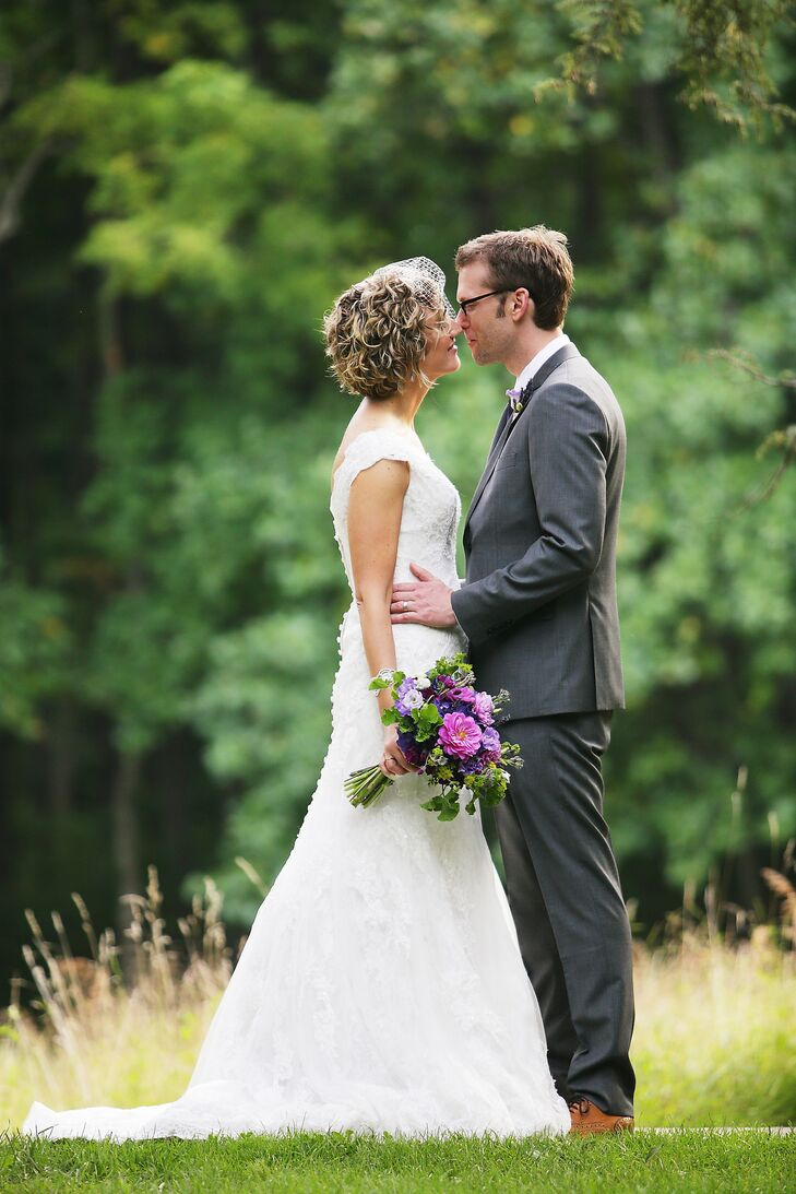 Simplicity can be elegant, and that's exactly what it was at the wedding of Kate Fatta (33 and in international development) and Todd Moreland (36 and