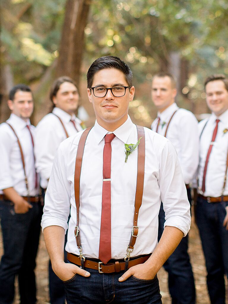 Casual Rustic Country Groom Attire