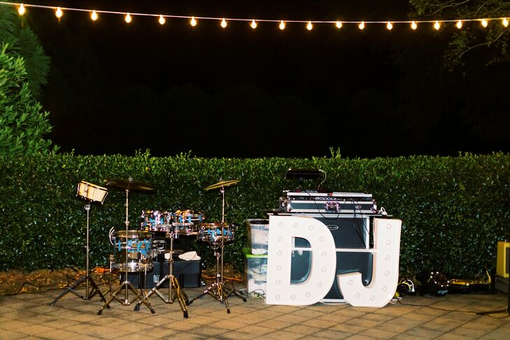 DJ Booth at Ballantyne Country Club Wedding in Charlotte, North Carolina