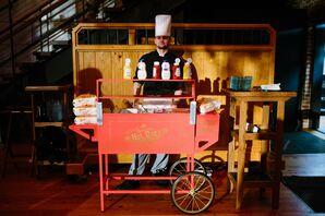 Late Night Vintage Hot Dog Cart