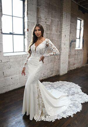Martina Liana 1302 Sheath Wedding Dress