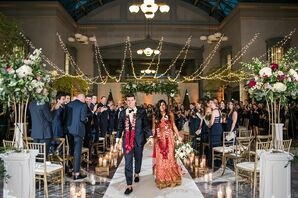 Elegant Recessional at the Harold Washington Library in Chicago, Illinois