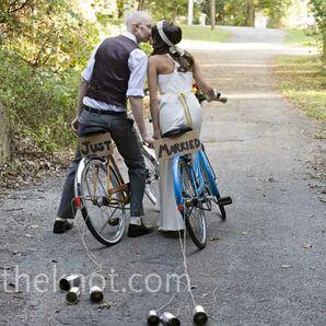 Vintage Bicycle Transportation