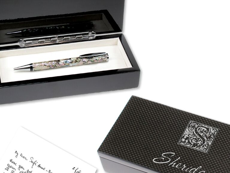 Mother-of-pearl pen 30-year anniversary gift