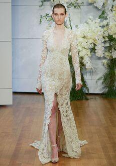 Monique Lhuillier Faith Sheath Wedding Dress