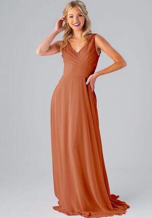 Kennedy Blue Kristen V-Neck Bridesmaid Dress