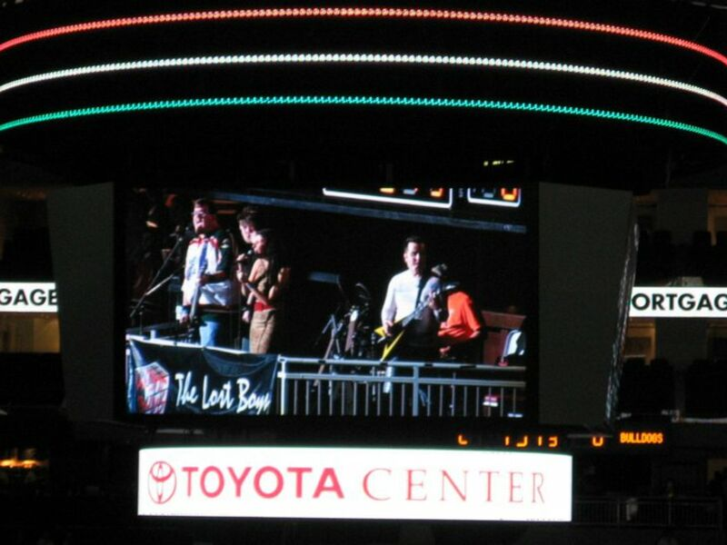 Lost Boys playing Toyota Center!