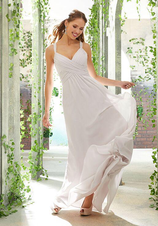 Morilee by Madeline Gardner Bridesmaids 21608 V-Neck Bridesmaid Dress