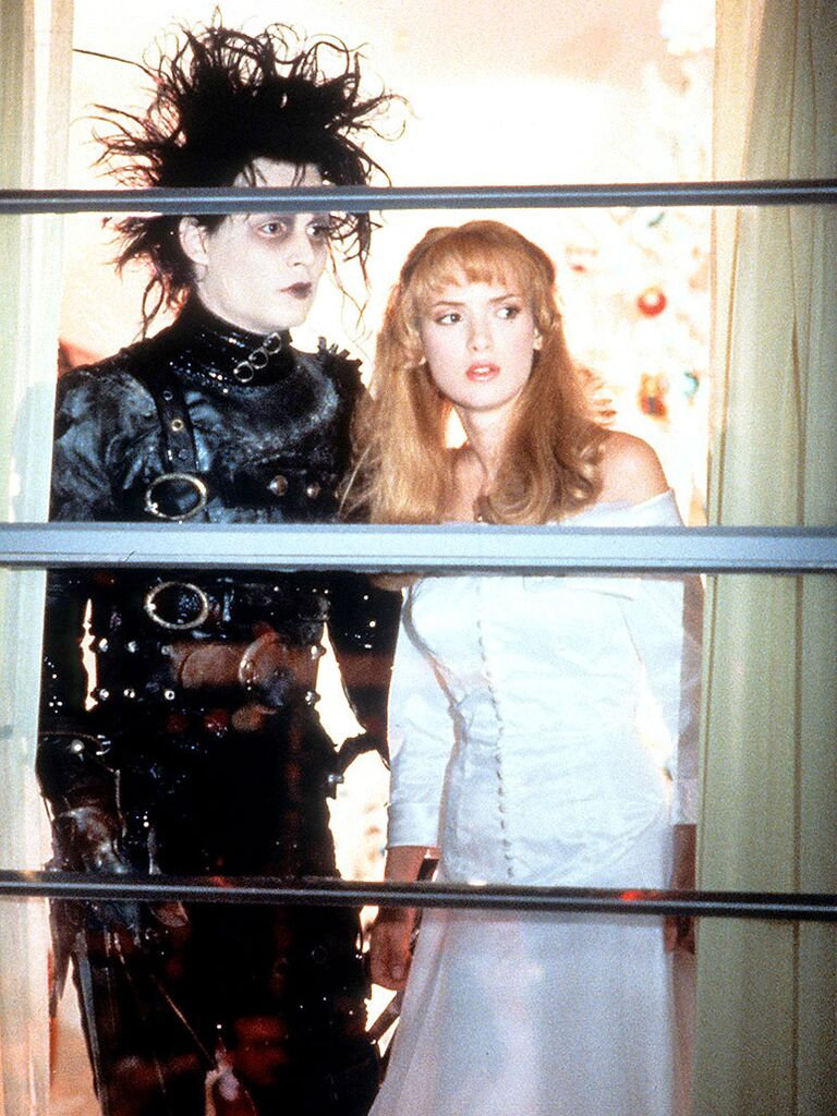 Edward Scissorhands famous movie couples  sc 1 st  The Knot : 80s movie couples costume  - Germanpascual.Com
