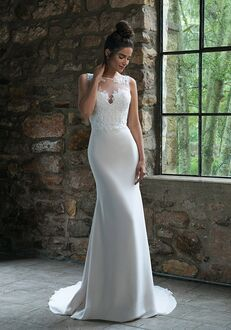Sincerity Bridal 44066 Sheath Wedding Dress