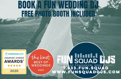 Portland Wedding DJ | FUN SQUAD DJS | 1.833.FUN.SQUAD
