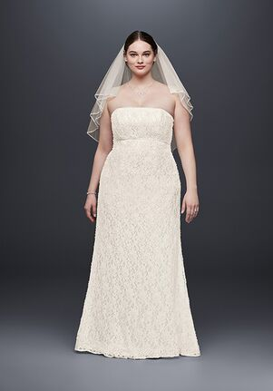 4a8253f164cf Empire Waist Wedding Dresses | The Knot