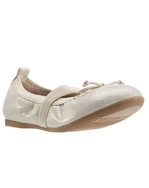 Nina Bridal Esther Gold, Champagne Shoe
