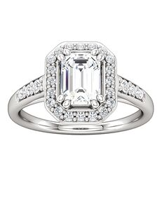 ever&ever Glamorous Princess, Asscher, Cushion, Emerald, Marquise, Round, Oval Cut Engagement Ring