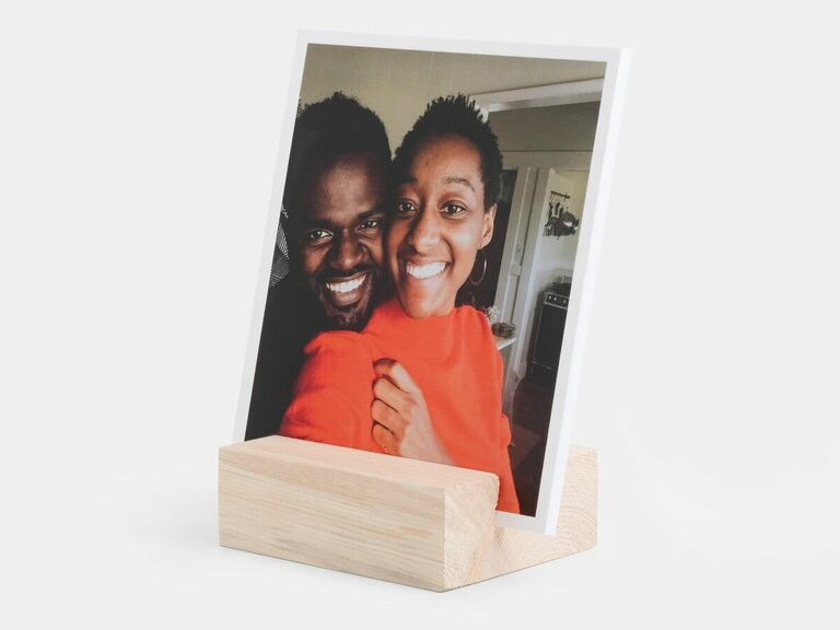 photo display sentimental gift for husband