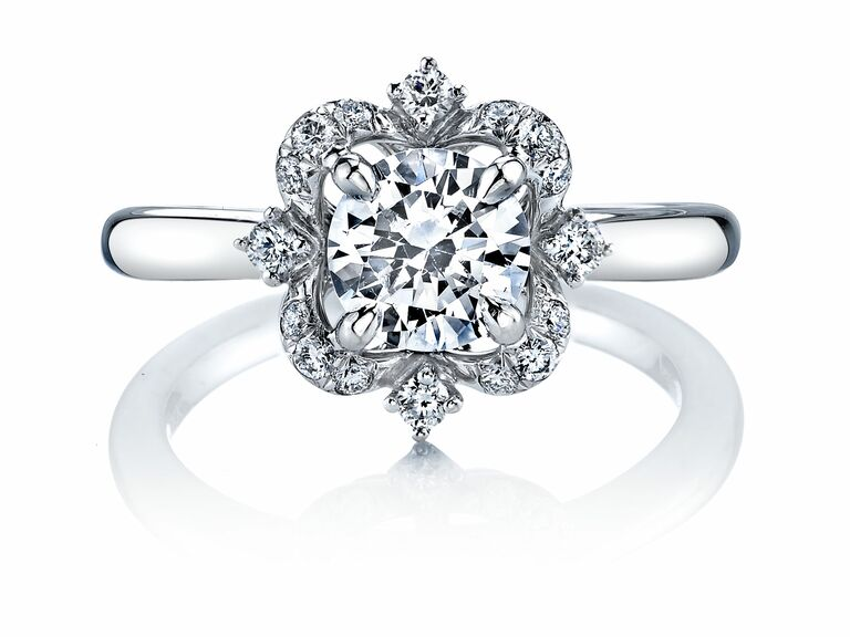 Delicieux Parade Designs Floral Engagement Ring