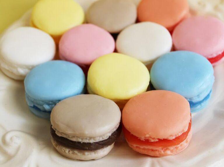 Macaron soap bridal shower favor