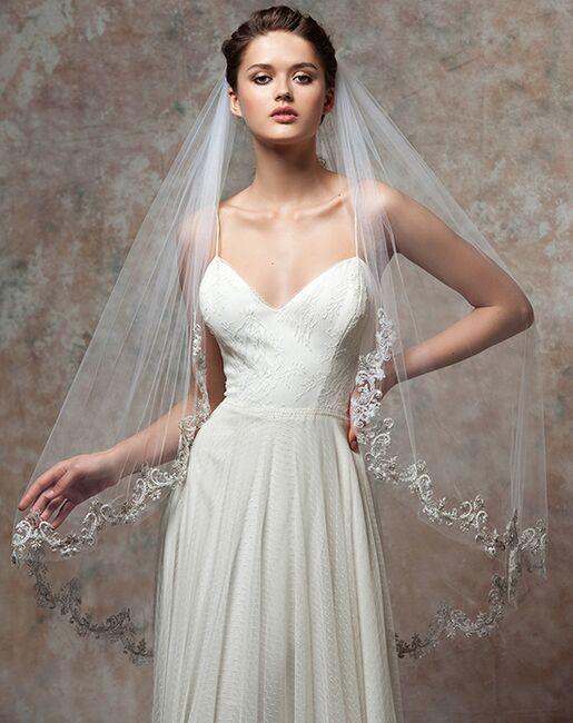 To Have & To Borrow Jolie White Veil