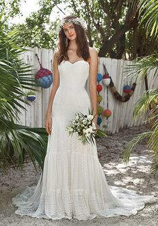 Lillian West 66031 A-Line Wedding Dress
