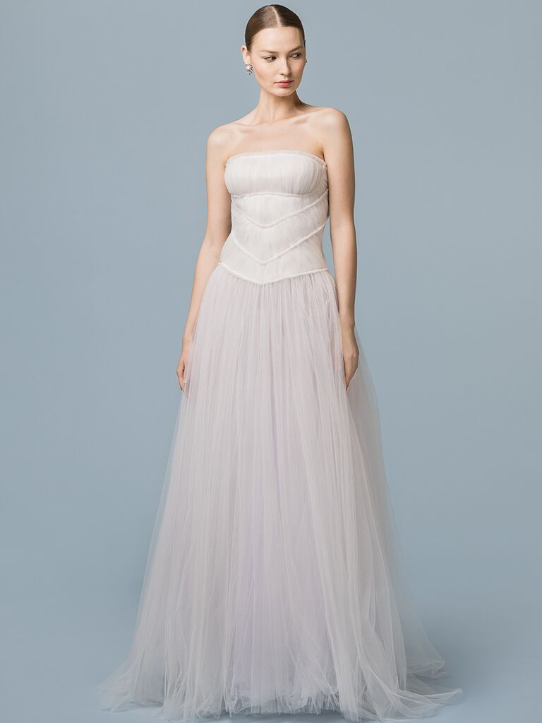 EDEM Demi Couture A-line wedding dress with tulle skirt